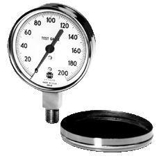 Industrial Process And Sensor Test Pressure Gauges